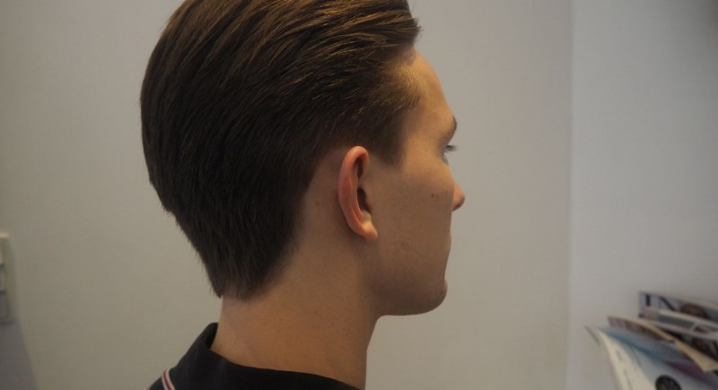 Salon Dechoix mens haircut