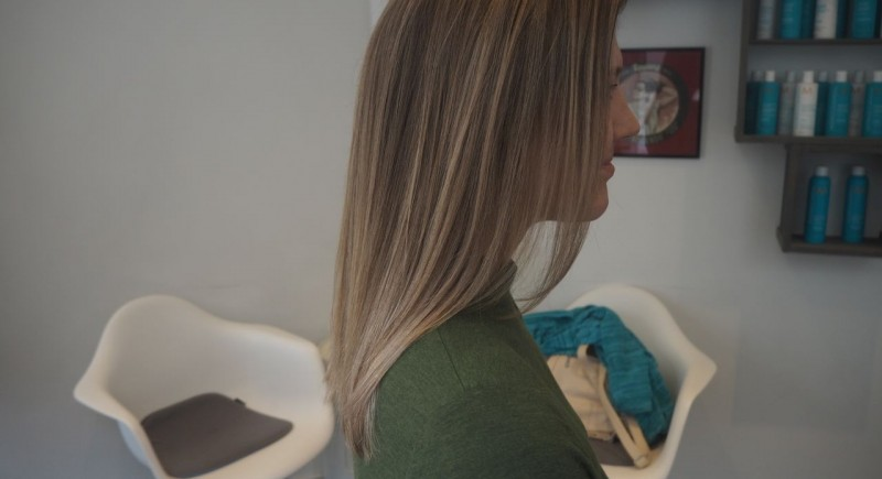 Salon Dechoix Balayage + baby highlights