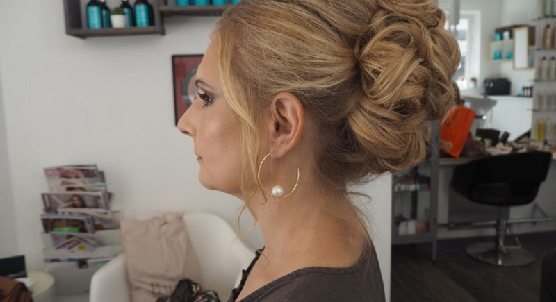 Salon Dechoix wedding hair styling